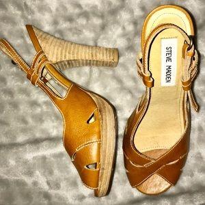 Steve Madden Strappy Summer Boho Platform Heels
